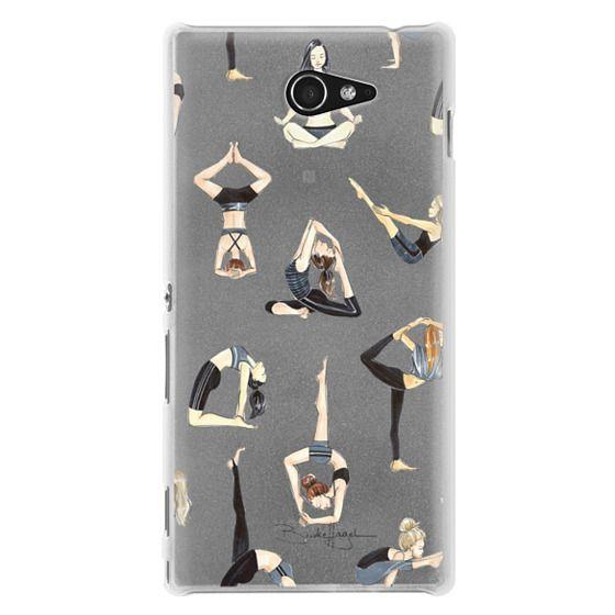 Sony M2 Cases - Yoga Girls