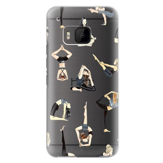 Htc One M9 Cases - Yoga Girls