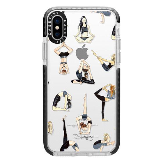iPhone X Cases - Yoga Girls