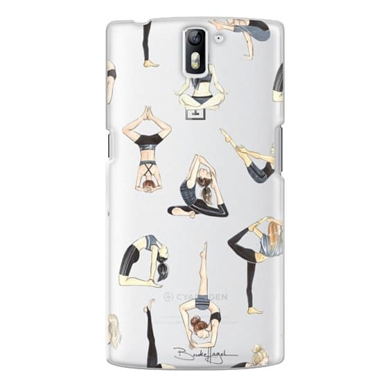 One Plus One Cases - Yoga Girls