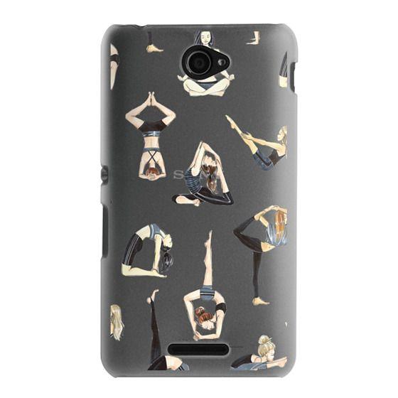 Sony E4 Cases - Yoga Girls