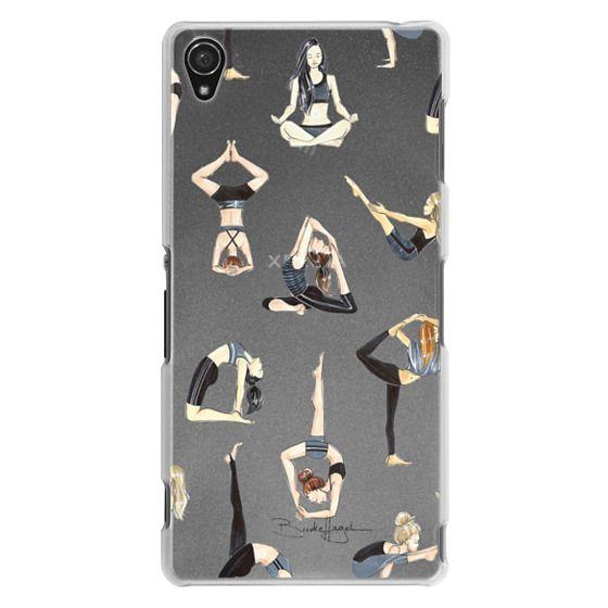 Sony Z3 Cases - Yoga Girls