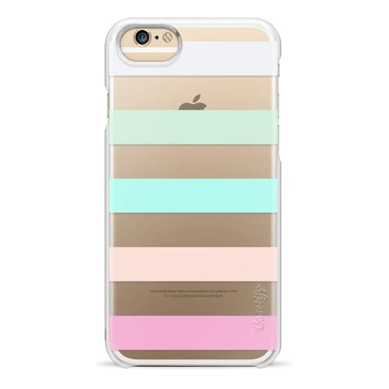 iPhone 6 Cases - STRIPED - PEACHED