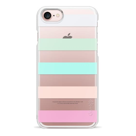 iPhone 7 Cases - STRIPED - PEACHED