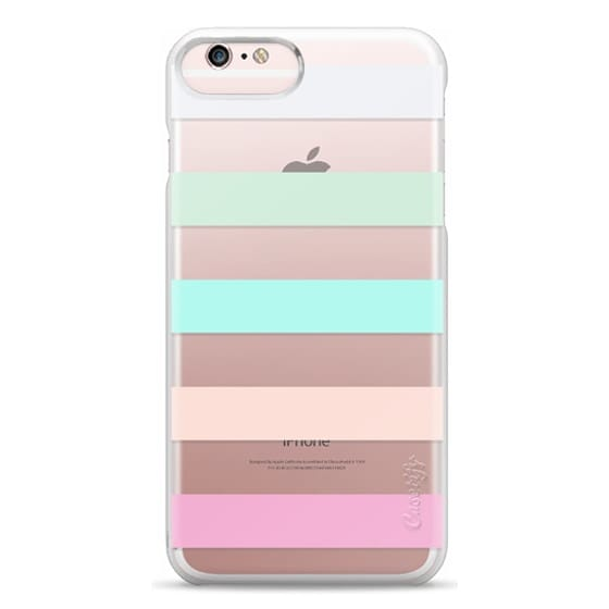 iPhone 6s Plus Cases - STRIPED - PEACHED