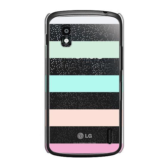 Nexus 4 Cases - STRIPED - PEACHED