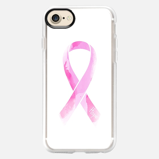 Breast Cancer Ribbon - Wallet Case