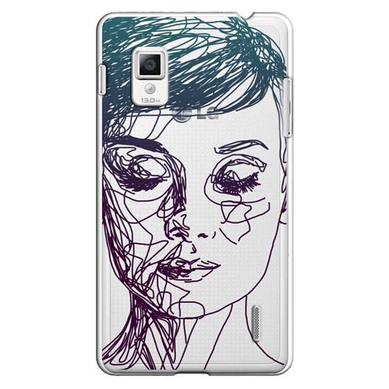Audrey Blue Transparent