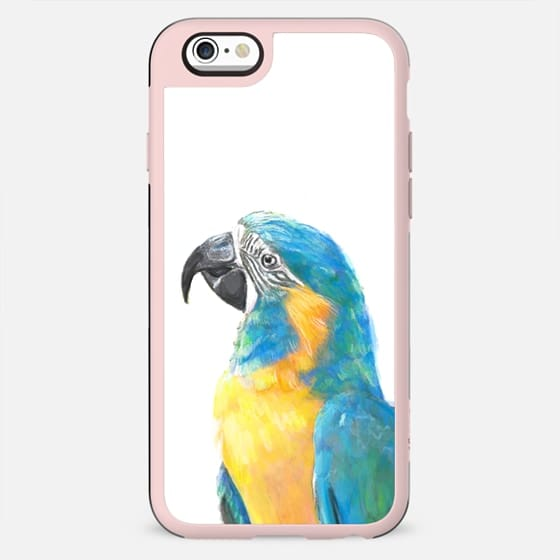 Colorful Macaw Bird - New Standard Case