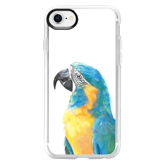 iPhone 6s Cases - Colorful Macaw Bird
