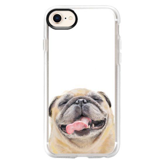 iPhone 7 Plus Cases - Happy Pug