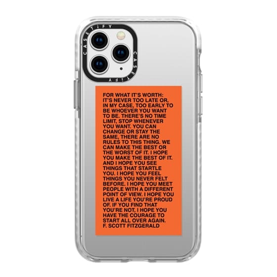 iPhone 11 Pro Cases - For What It's Worth iPhone Case by Quotes by Christie