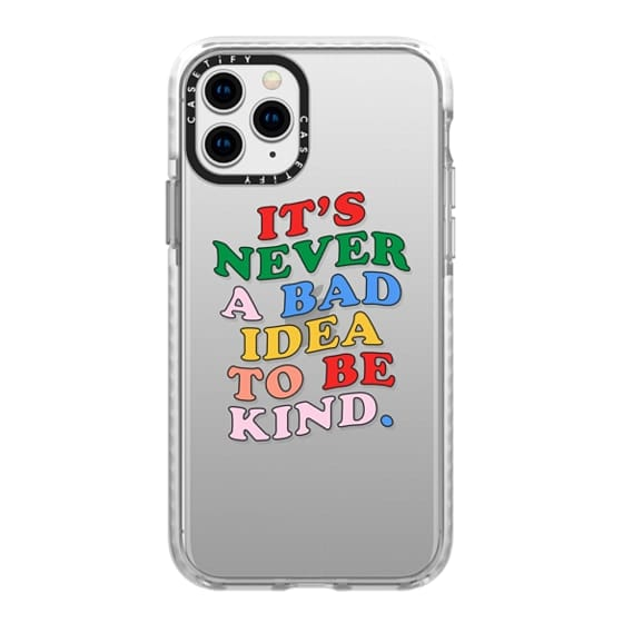 iPhone 11 Pro Cases - Be Kind iPhone Case by Quotes by Christie