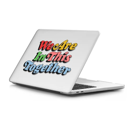 MacBook Pro Touchbar 13 Sleeves - In This Together Macbook Case by Quotes by Christie