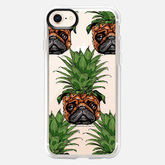 Pineapple Pug - Snap Case