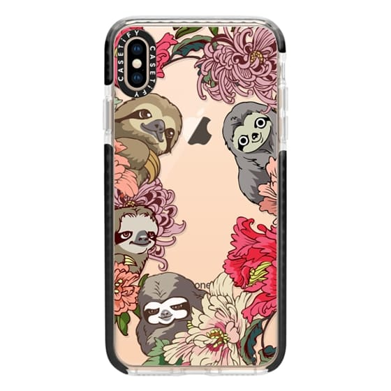 iPhone XS Max Cases - Because Sloths 2