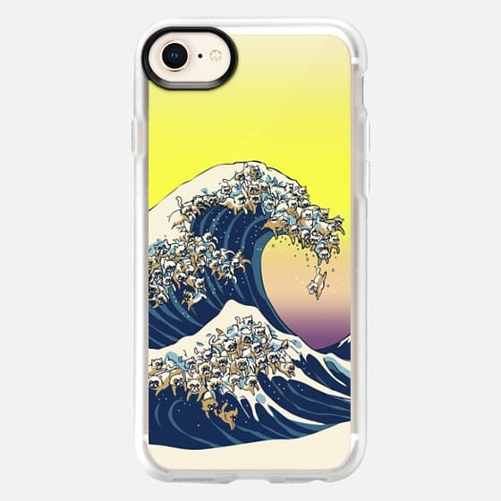 The Great wave of cat - Snap Case