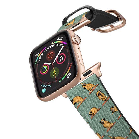 Apple Watch 38mm Bands - Pug Yoga
