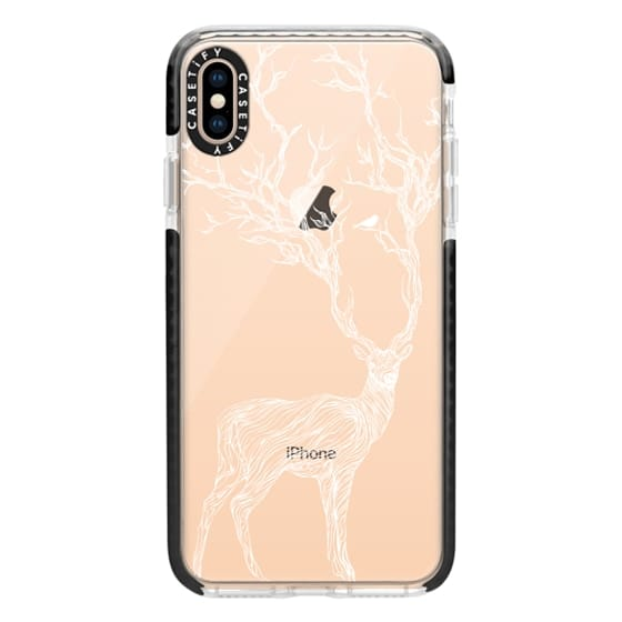 iPhone XS Max Cases - White Deer