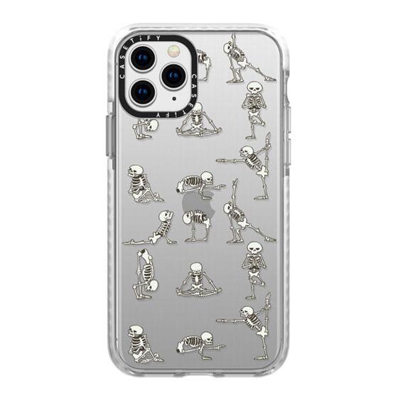 iPhone 11 Pro Cases - Skeleton Yoga