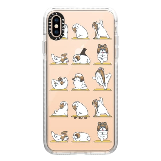 iPhone XS Max Cases - Shih Tzu Yoga