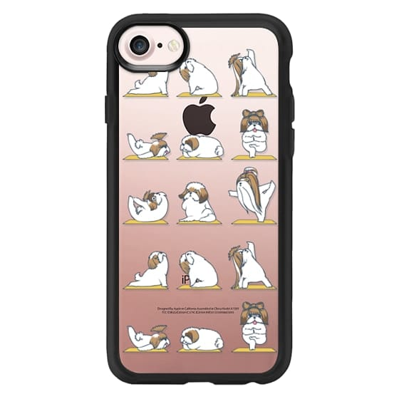 iPhone 7 Cases - Shih Tzu Yoga