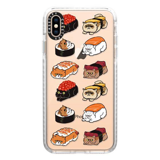 iPhone XS Max Cases - Sushi Cat