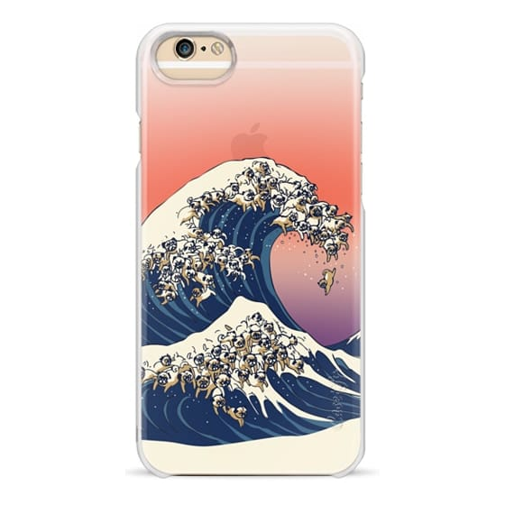 iPhone 6s Cases - The Great Wave of Pug