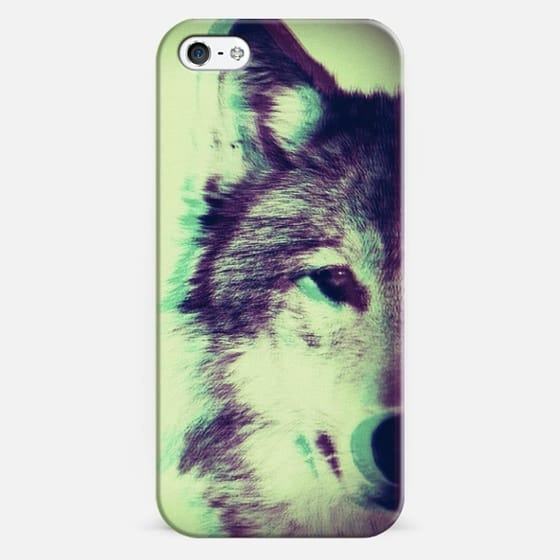 Wolf - Classic Snap Case