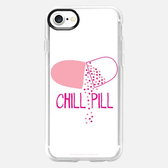 Chill Pill - white case - Classic Grip Case