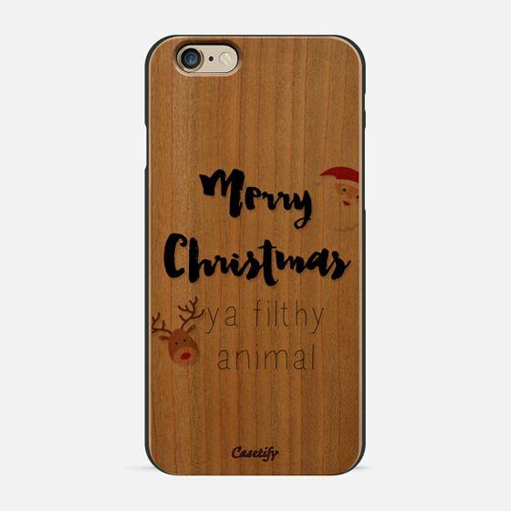 Merry Christmas Ya Filthy Animal -