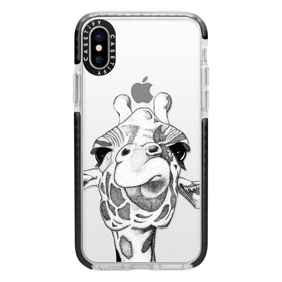 iPhone X Cases - Josey the Giraffe