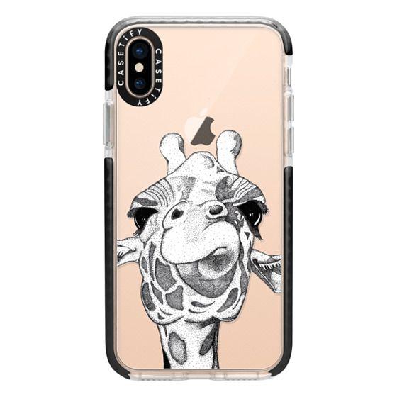 iPhone XS Cases - Josey the Giraffe