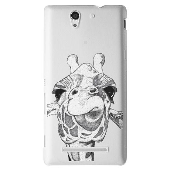 Sony C3 Cases - Josey the Giraffe