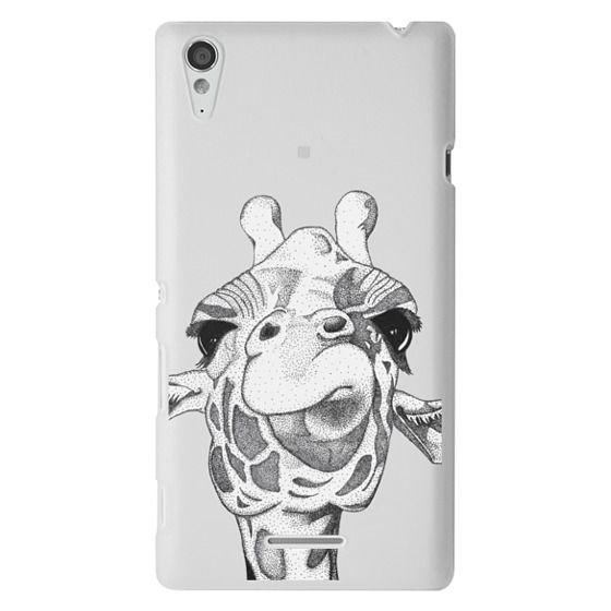 Sony T3 Cases - Josey the Giraffe