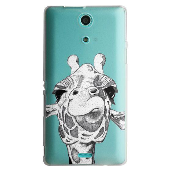 Sony Zr Cases - Josey the Giraffe