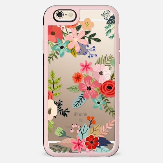 Floral Collage - New Standard Case