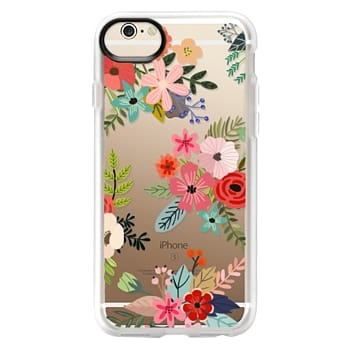 Grip iPhone 6 Case - Floral Collage