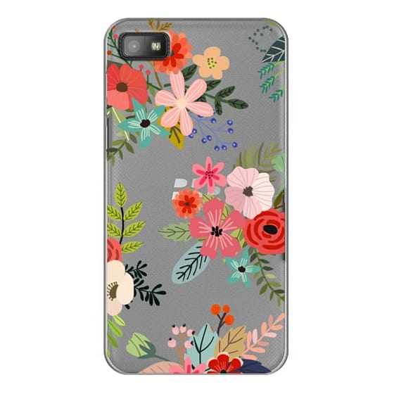 Blackberry Z10 Cases - Floral Collage