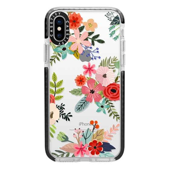 iPhone X Cases - Floral Collage