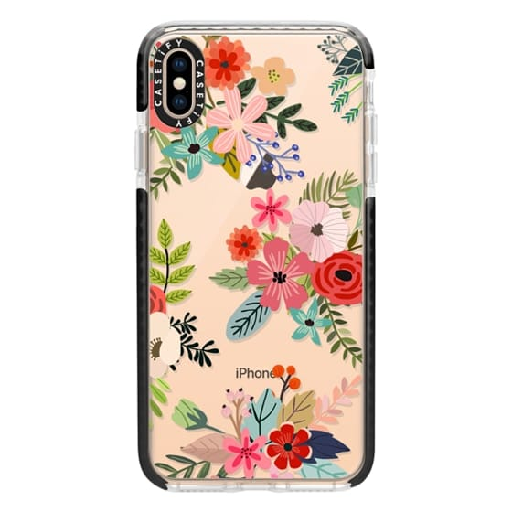 reputable site 950d8 dea2c Impact iPhone XS Max Case - Floral Collage