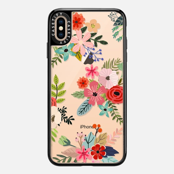 iPhone 7 Plus/7/6 Plus/6/5/5s/5c Case - Floral Collage