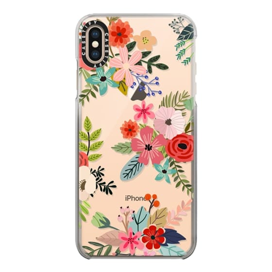 iPhone XS Max Cases - Floral Collage
