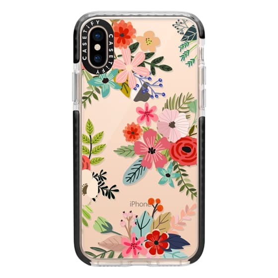 iPhone XS Cases - Floral Collage