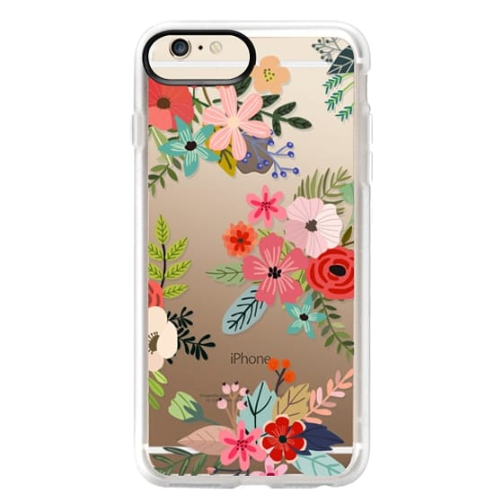 iPhone 6 Plus Cases - Floral Collage