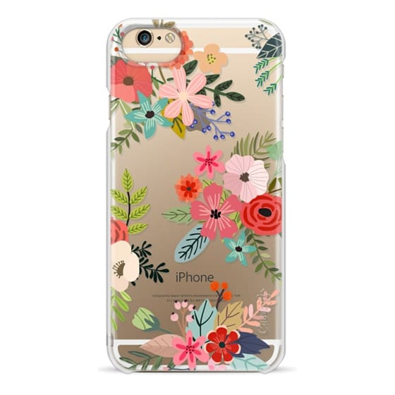 iPhone 6 Cases - Floral Collage