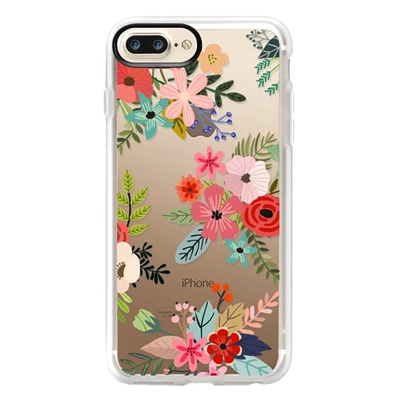 iPhone 7 Plus Cases - Floral Collage