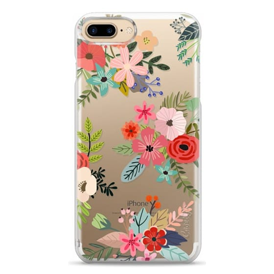 iPhone 7 Plus Cases - Floral Collage