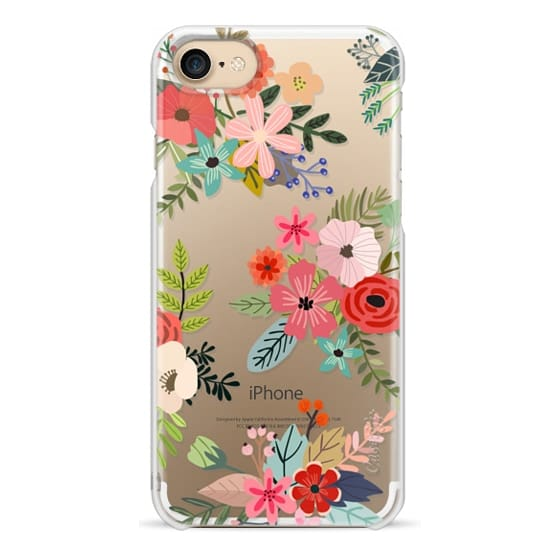 iPhone 4 Cases - Floral Collage