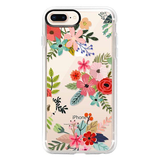 iPhone 8 Plus Cases - Floral Collage